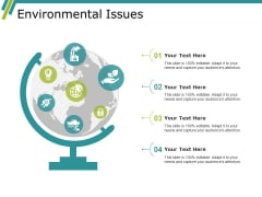 Environmental Issues Ppt PowerPoint Presentation File Graphics Template