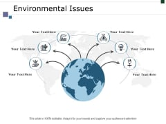 Environmental Issues Ppt PowerPoint Presentation Show Portfolio