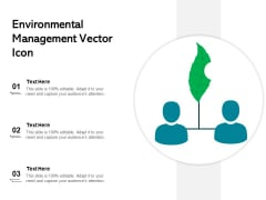 Environmental Management Vector Icon Ppt PowerPoint Presentation Gallery Example PDF