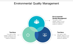 Environmental Quality Management Ppt Powerpoint Presentation Picture Cpb