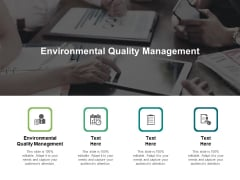 Environmental Quality Management Ppt PowerPoint Presentation Professional Background Images Cpb Pdf