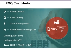 Eoq Cost Model Ppt PowerPoint Presentation Layouts Styles