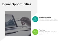 Equal Opportunities Ppt PowerPoint Presentation Show Vector Cpb Pdf