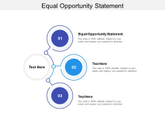 Equal Opportunity Statement Ppt PowerPoint Presentation Ideas Graphics Tutorials Cpb