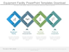 Equipment Facility Powerpoint Templates Download