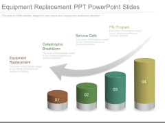 Equipment Replacement Ppt Powerpoint Slides