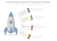 Equity Analysis Template Ppt Background Template