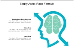 Equity Asset Ratio Formula Ppt Powerpoint Presentation Ideas Influencers Cpb