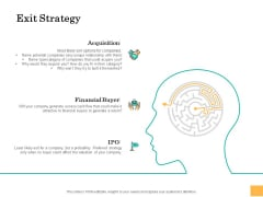 Equity Capital Funding Exit Strategy Ppt Inspiration Show PDF