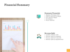 Equity Capital Funding Financial Summary Ppt File Example File PDF