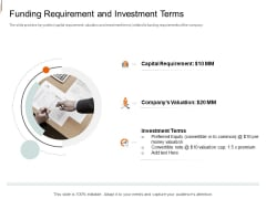 Equity Crowd Investing Funding Requirement And Investment Terms Topics PDF