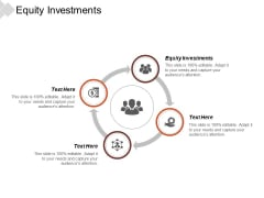 Equity Investments Ppt PowerPoint Presentation Gallery Influencers Cpb