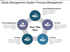 Equity Management System Process Management Ppt PowerPoint Presentation Layouts Backgrounds