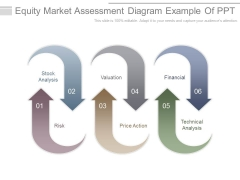 Equity Market Assessment Diagram Example Of Ppt