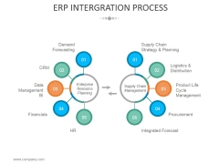 Erp Intergration Process Ppt PowerPoint Presentation Model Infographic Template