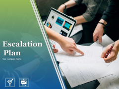 Escalation Plan Ppt PowerPoint Presentation Complete Deck With Slides