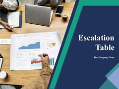 Escalation Table Ppt PowerPoint Presentation Complete Deck With Slides