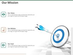 Escape Plan Venture Capitalist Our Mission Ppt Pictures Files PDF