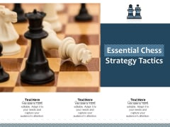 Essential Chess Strategy Tactics Ppt PowerPoint Presentation File Background Image PDF