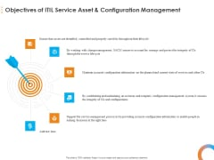Essential Guide Framework Processes Objectives Of ITIL Service Asset And Configuration Management Mockup PDF