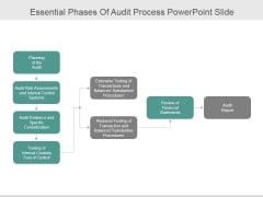 Essential Phases Of Audit Process Ppt PowerPoint Presentation Show
