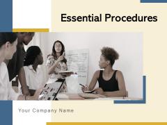 Essential Procedures Strategic Planning Ppt PowerPoint Presentation Complete Deck