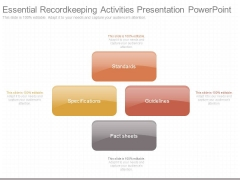 Essential Recordkeeping Activities Presentation Powerpoint