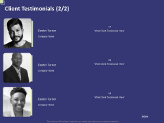 Essential Terms And Conditions For A Business Client Testimonials Strategy Introduction PDF