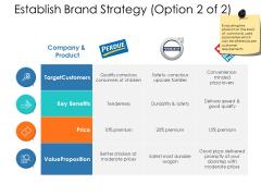 Establish Brand Strategy Price Ppt Powerpoint Presentation Portfolio Template