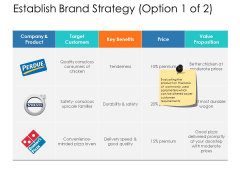 Establish Brand Strategy Target Ppt Powerpoint Presentation Professional Pictures