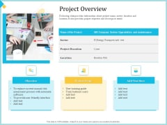 Establish Management Team Project Overview Ppt Inspiration Deck PDF