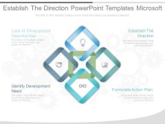 Establish The Direction Powerpoint Templates Microsoft
