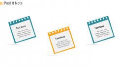 Establishing An Efficient Integrated Marketing Communication Process Post It Nots Ppt Styles Good PDF