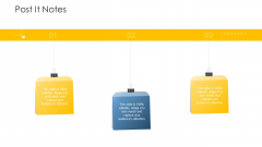 Establishing Operational Risk Framework Banking Post It Notes Ppt Visual Aids Outline PDF