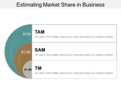 Estimating Market Share In Business Ppt PowerPoint Presentation Infographic Template Introduction