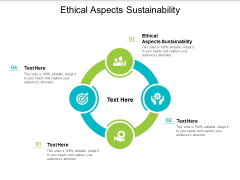Ethical Aspects Sustainability Ppt PowerPoint Presentation Show Pictures Cpb