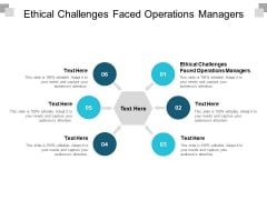Ethical Challenges Faced Operations Managers Ppt PowerPoint Presentation Infographic Template Slide Download Cpb