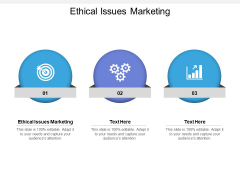 Ethical Issues Marketing Ppt PowerPoint Presentation Slides Smartart Cpb