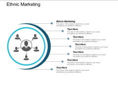 Ethnic Marketing Ppt Powerpoint Presentation Model Graphic Tips Cpb