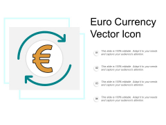 Euro Currency Vector Icon Ppt Powerpoint Presentation Styles Influencers