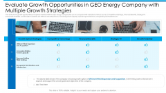Evaluate Growth Opportunities In GEO Energy Company With Multiple Growth Strategies Ideas PDF