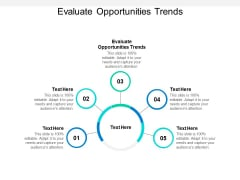 Evaluate Opportunities Trends Ppt PowerPoint Presentation Summary Layouts Cpb