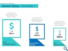 Evaluating Competitive Marketing Effectiveness Market Sizing Ppt Professional Layout PDF