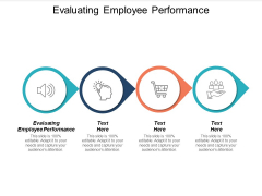 Evaluating Employee Performance Ppt PowerPoint Presentation Ideas Infographics Cpb