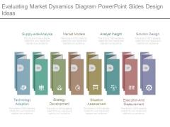 Evaluating Market Dynamics Diagram Powerpoint Slides Design Ideas