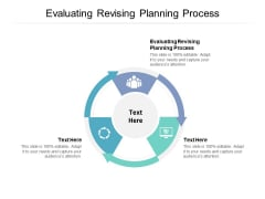 Evaluating Revising Planning Process Ppt PowerPoint Presentation Infographic Template Example Introduction Cpb