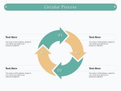 Evaluating Strategic Governance Maturity Model Circular Process Ppt Gallery Gridlines PDF
