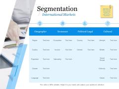 Evaluating Target Market Segments Segmentation Cultural Ppt Gallery Demonstration PDF