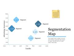 Evaluating Target Market Segments Segmentation Map Ppt Icon Diagrams PDF