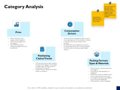 Evaluation Criteria Of New Product Development Process Category Analysis Ppt PowerPoint Presentation Examples PDF